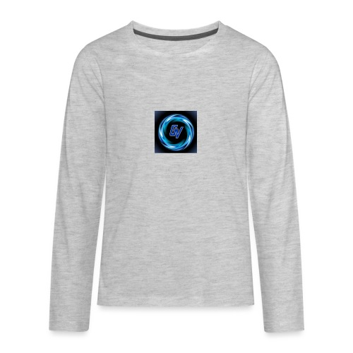 MY YOUTUBE LOGO 3 - Kids' Premium Long Sleeve T-Shirt