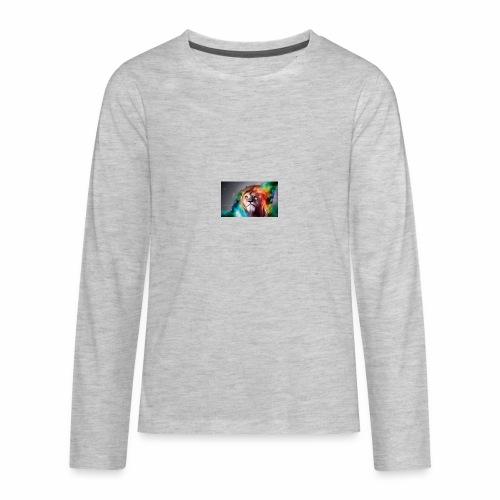 Lion - Kids' Premium Long Sleeve T-Shirt