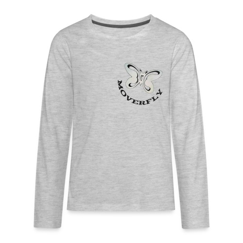 MoverFly Icon - Kids' Premium Long Sleeve T-Shirt