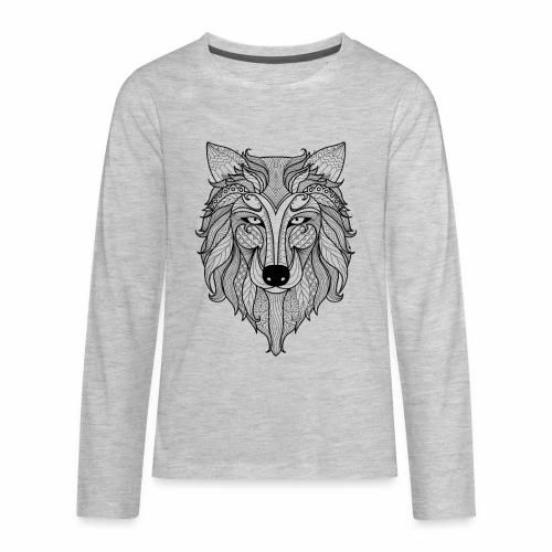 Classy Fox - Kids' Premium Long Sleeve T-Shirt