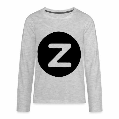 z logo - Kids' Premium Long Sleeve T-Shirt