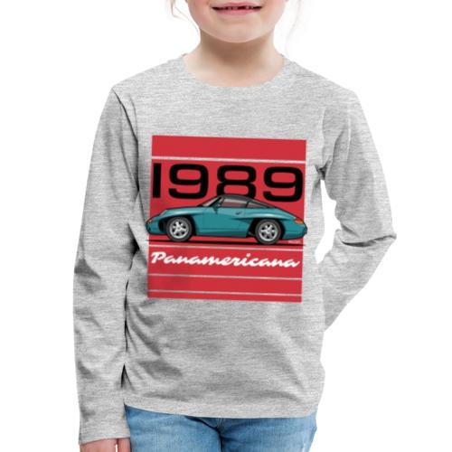 1989 P0r5che Panamericana Concept Car - Kids' Premium Long Sleeve T-Shirt