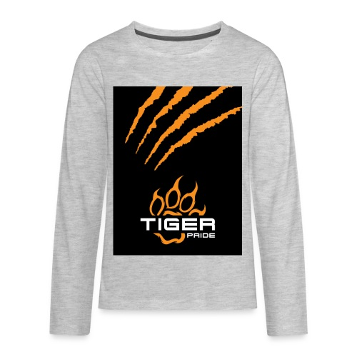 Tiger Pride iPad Case - Kids' Premium Long Sleeve T-Shirt