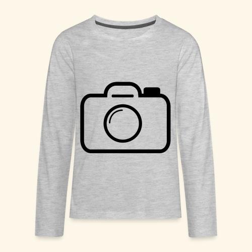 Camera - Kids' Premium Long Sleeve T-Shirt