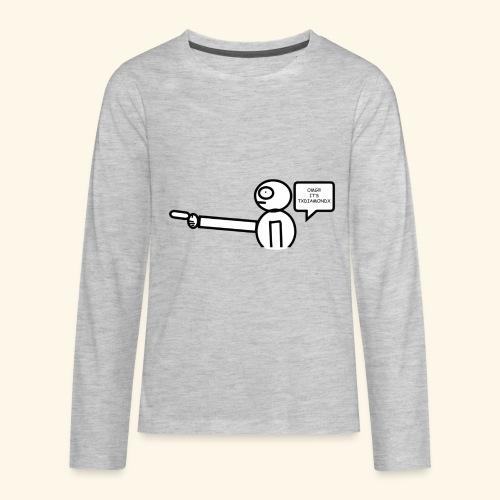 OMG its txdiamondx - Kids' Premium Long Sleeve T-Shirt