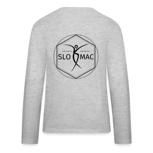 SLOMAC Hex Logo in Black - Kids' Premium Long Sleeve T-Shirt