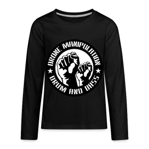 Drone Manipulation FISTS UP - Kids' Premium Long Sleeve T-Shirt
