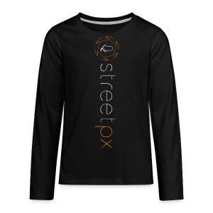 Urban Explorer StreetPX Logo - Kids' Premium Long Sleeve T-Shirt