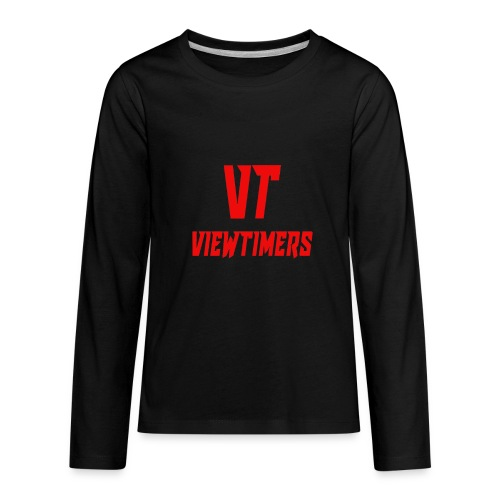 ViewTimers Merch - Kids' Premium Long Sleeve T-Shirt