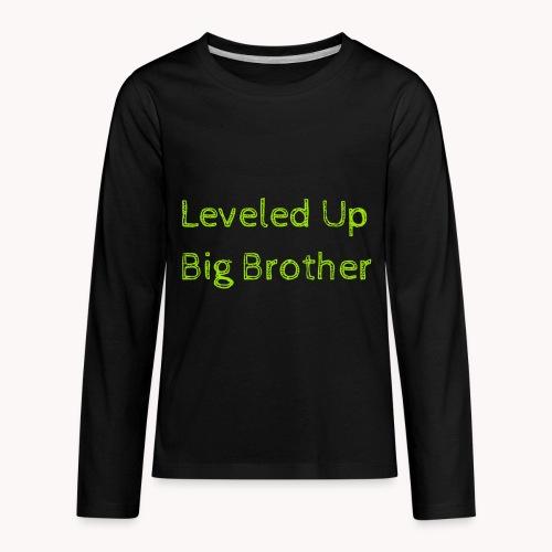 Leveled Up - Kids' Premium Long Sleeve T-Shirt