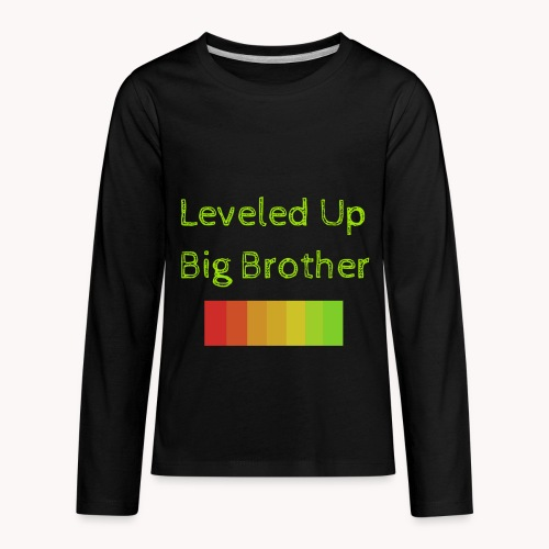 Leveled Up - Kids' Premium Long Sleeve T-Shirt