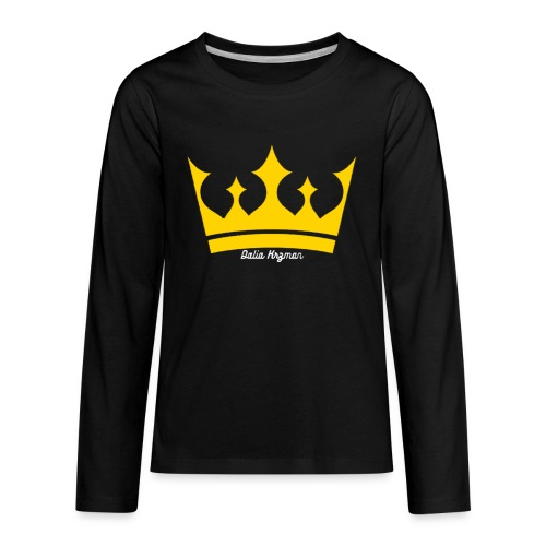 Crownister - Kids' Premium Long Sleeve T-Shirt
