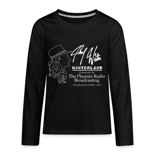 Johnny Winter's Winterland - Kids' Premium Long Sleeve T-Shirt