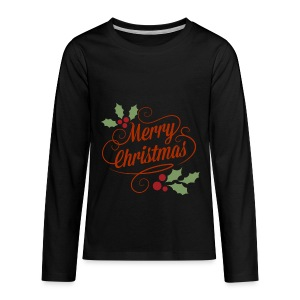 Merry Christmas - Kids' Premium Long Sleeve T-Shirt
