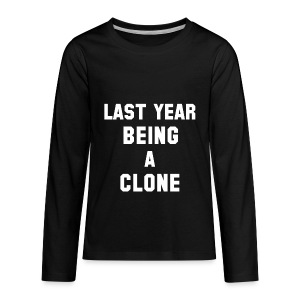 C-LONE THUG - Kids' Premium Long Sleeve T-Shirt