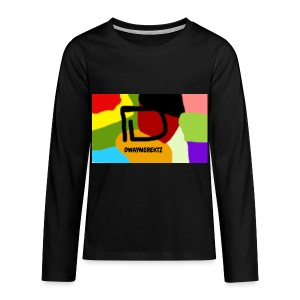 DwayneRektz Dye - Kids' Premium Long Sleeve T-Shirt