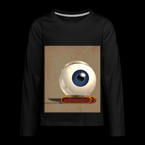 small Big eye robot - Kids' Premium Long Sleeve T-Shirt