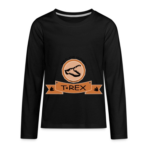 T REX - Kids' Premium Long Sleeve T-Shirt