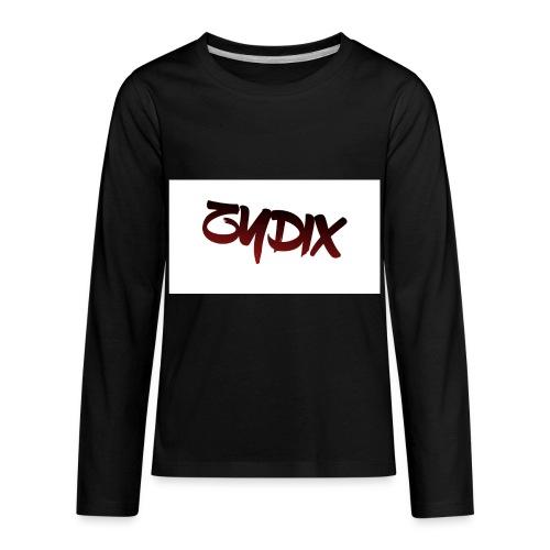 Logo Hoddie - Kids' Premium Long Sleeve T-Shirt