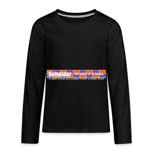Beholder T-Shirt - Kids' Premium Long Sleeve T-Shirt