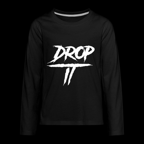 DROP IT Original Logo - Kids' Premium Long Sleeve T-Shirt