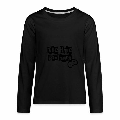 TheHypeBrothersEmpty- - Kids' Premium Long Sleeve T-Shirt