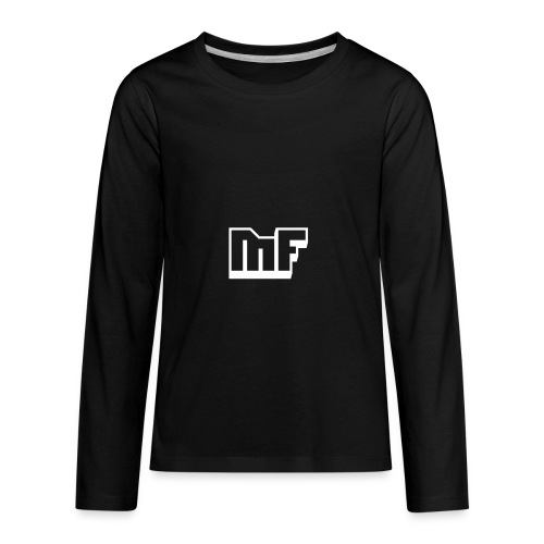 MF LOGO appareals - Kids' Premium Long Sleeve T-Shirt