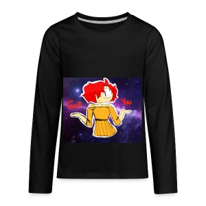 Fuck you galaxy girl - Kids' Premium Long Sleeve T-Shirt