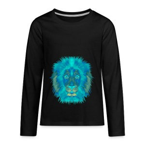 Blue Line - Kids' Premium Long Sleeve T-Shirt