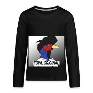 Fowl Original Logo - Kids' Premium Long Sleeve T-Shirt