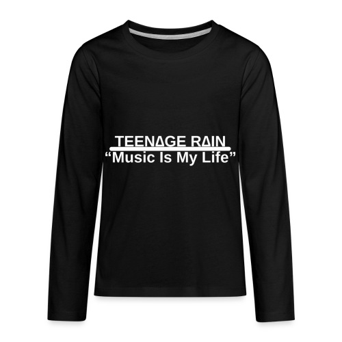 Music Is My Life Sweatshirt - Kids' Premium Long Sleeve T-Shirt