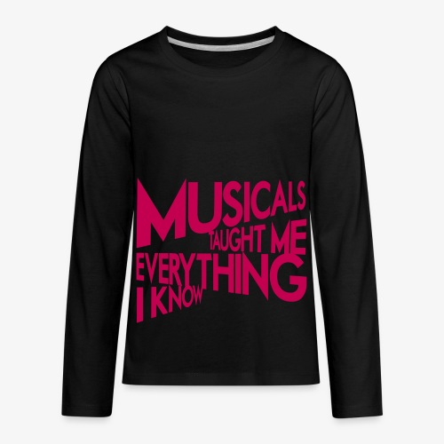 MTMEIK Pink Logo - Kids' Premium Long Sleeve T-Shirt