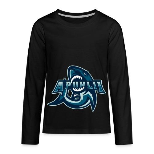 apuhlii Logo - Kids' Premium Long Sleeve T-Shirt