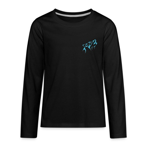 Merch Wolf - Kids' Premium Long Sleeve T-Shirt
