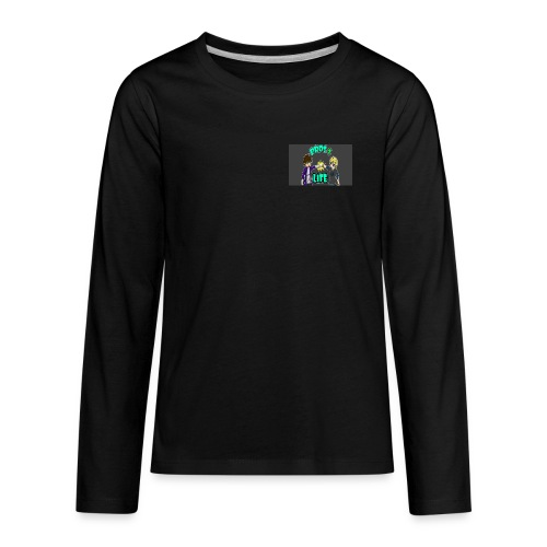 Bro's For Life - Kids' Premium Long Sleeve T-Shirt