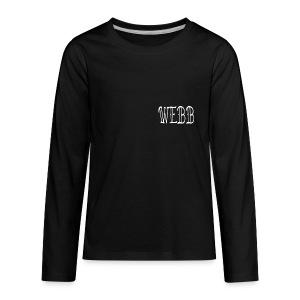 WEBBXRULES - Kids' Premium Long Sleeve T-Shirt
