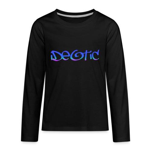 Kids Graffiti Ideotic Logo - Kids' Premium Long Sleeve T-Shirt