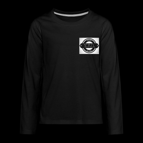 tyd official logo - Kids' Premium Long Sleeve T-Shirt