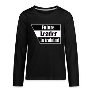 Future Leader in training - Kids' Premium Long Sleeve T-Shirt