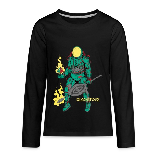 Afronaut - Kids' Premium Long Sleeve T-Shirt