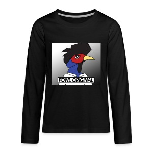 Fowl Original Logo - Kids' Premium Long Sleeve T-Shirt
