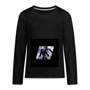 Merchlogo Vol.2 - Kids' Premium Long Sleeve T-Shirt