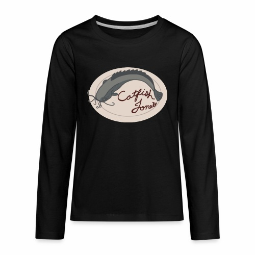Fish Painting - Kids' Premium Long Sleeve T-Shirt