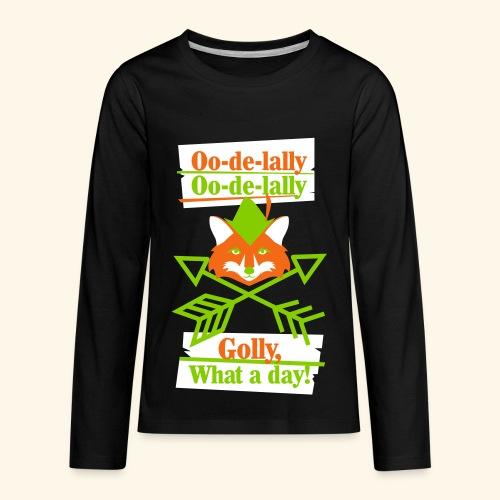 Ooodelally2 - Kids' Premium Long Sleeve T-Shirt