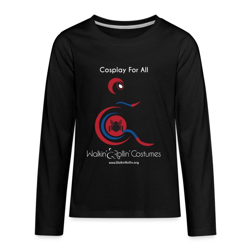 Cosplay For All: Spiderman - Kids' Premium Long Sleeve T-Shirt