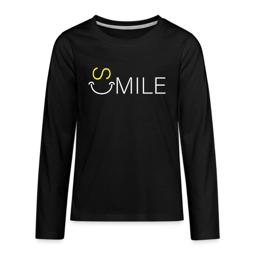 SMILE 7 - Kids' Premium Long Sleeve T-Shirt