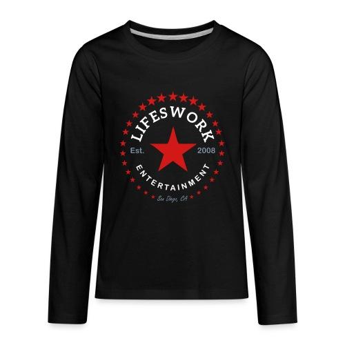 Lifeswork Entertainment - Kids' Premium Long Sleeve T-Shirt