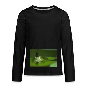 frog butterfly - Kids' Premium Long Sleeve T-Shirt