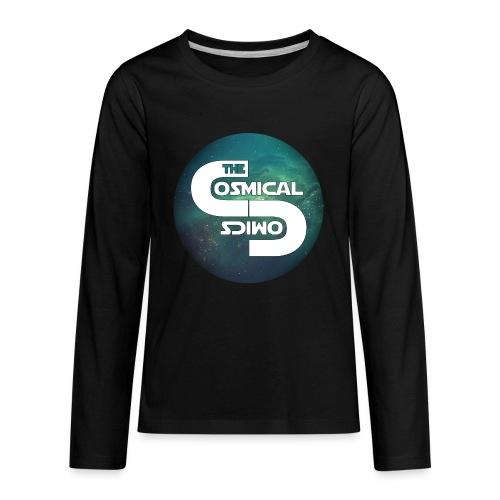 TheCosmicalComics logo - Kids' Premium Long Sleeve T-Shirt