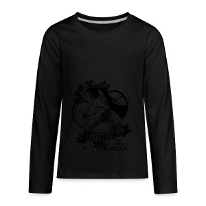 A SMILE is the prettiest thing-Ran Mori - Kids' Premium Long Sleeve T-Shirt